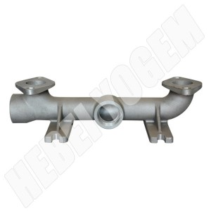 Gas distributing pipe